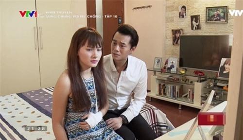 """6 tinh huong dang bi """"nem da"""" cua co con dau trong """"song chung voi me chong"""" - 8"""