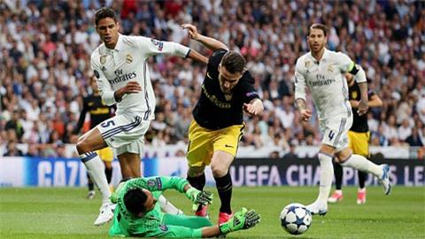 Atletico lép vế hoàn toàn so với đối thủ