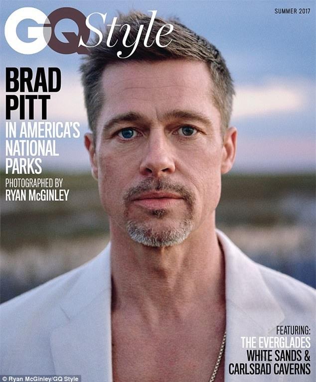 Brad Pitt đau xót thừa nhận thói nghiện ngập khiến gia đình của anh với Angelina Jolie tan vỡ - Ảnh 1.
