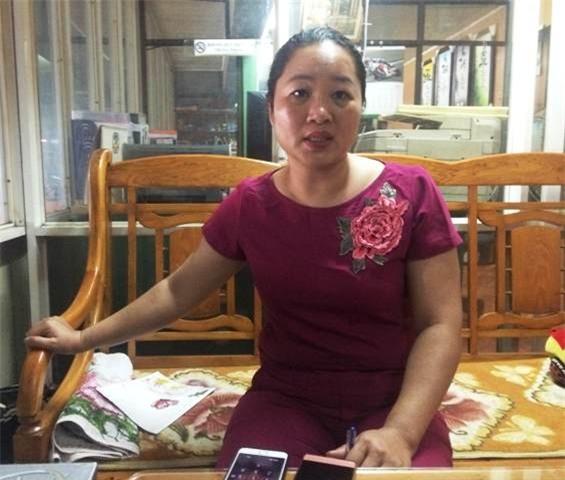 Chị Nguyễn Thu Hà - đại diện gara ô tô Mạnh Sơn.