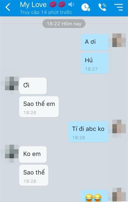 "chet cuoi khi cac chang sap bay vi ban gai nhan tin doi ""abc"" - 9"