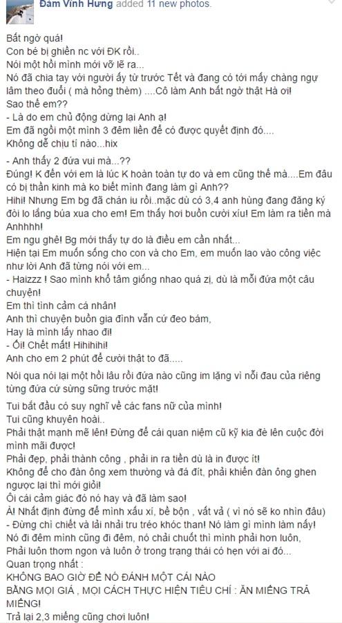 Mr. Đàm tiết lộ Hồ Ngọc Hà chủ động chia tay Chu Đăng Khoa.