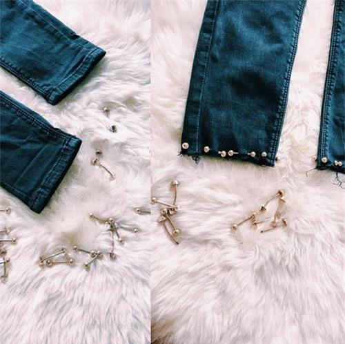 minh hang huong dan cach tai che cho chiec quan jeans cu - 1