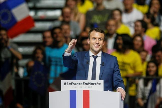 Ong Macron dac cu tong thong Phap hinh anh 1