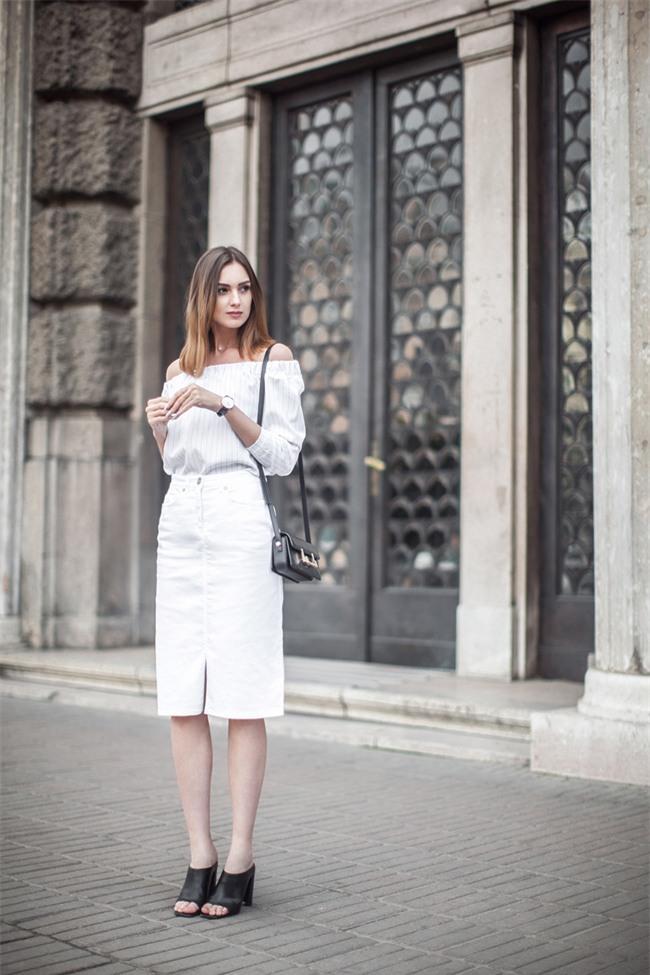 5 kiểu biến tấu giúp áo sơmi trắng chẳng còn vô vị và nhàm chán nữa - Ảnh 11.