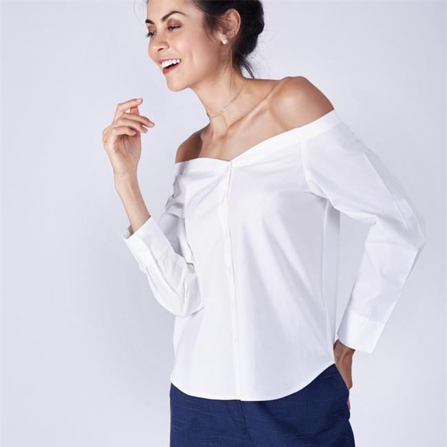 5 kiểu biến tấu giúp áo sơmi trắng chẳng còn vô vị và nhàm chán nữa - Ảnh 13.