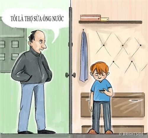 10 bài học cha mẹ nhất định phải trang bị cho con để tránh bị bắt cóc - 9