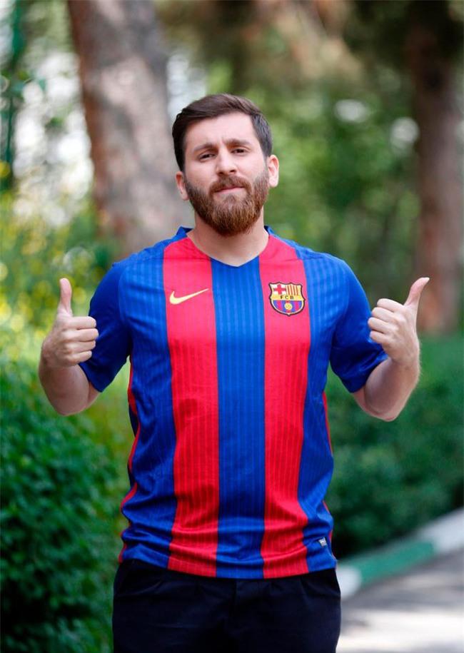 Sinh viên người Iran bị cảnh sát bắt giữ vì quá giống Messi - Ảnh 1.