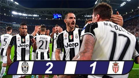 Thắng dễ Monaco, Juventus vào chung kết Champions League