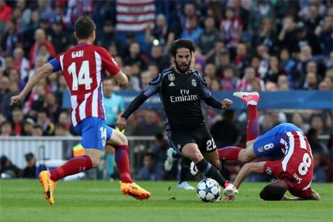 Isco tận dụng cơ hội và dứt điểm ghi bàn dập tắt hy vọng của đội chủ nhà