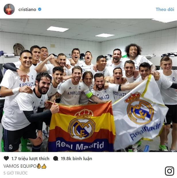 Ronaldo nói gì sau khi Real vào chung kết Champions League? - Ảnh 3.