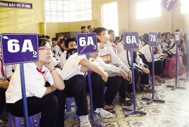 Tuyển sinh lớp 6 tại Hà Nội khá căng thẳng ở một số trường có thêm tiêu chí phụ. Ảnh minh họa: Q.Anh