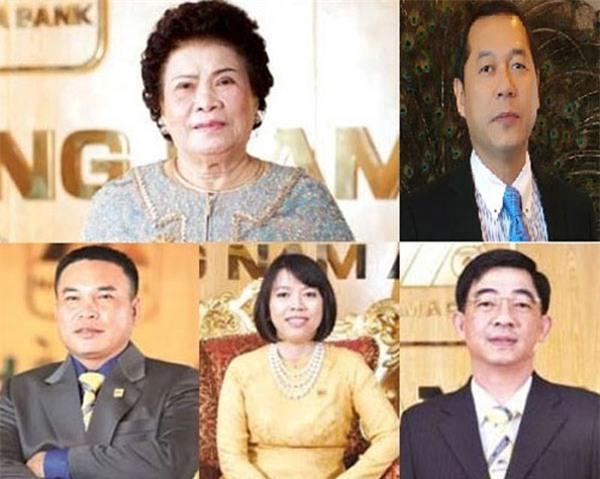 Tập đoàn Hoàn Cầu, NamABank, Tư Hường, Trần Thị Hường, Dương Trương Thiên Lý, doanh nhân thế hệ đầu, doanh nghiệp gia đình trị