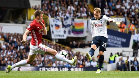 M.U bị Tottenham áp đảo ngay từ đầu