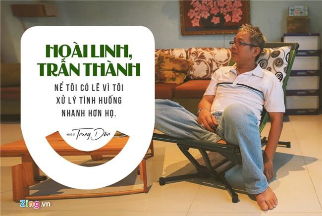 Nghe si Trung Dan - nguoi khien Hoai Linh, Tran Thanh phai ne phuc hinh anh 4