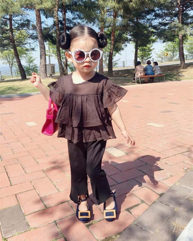 Co be thoi thuong nhat Han Quoc voi phong cach an mac khong the che vao dau
