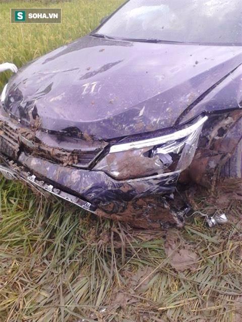 Hiện trường vụ tai nạn khiến 3 học sinh tử vong Bắc Ninh - Ảnh 3.