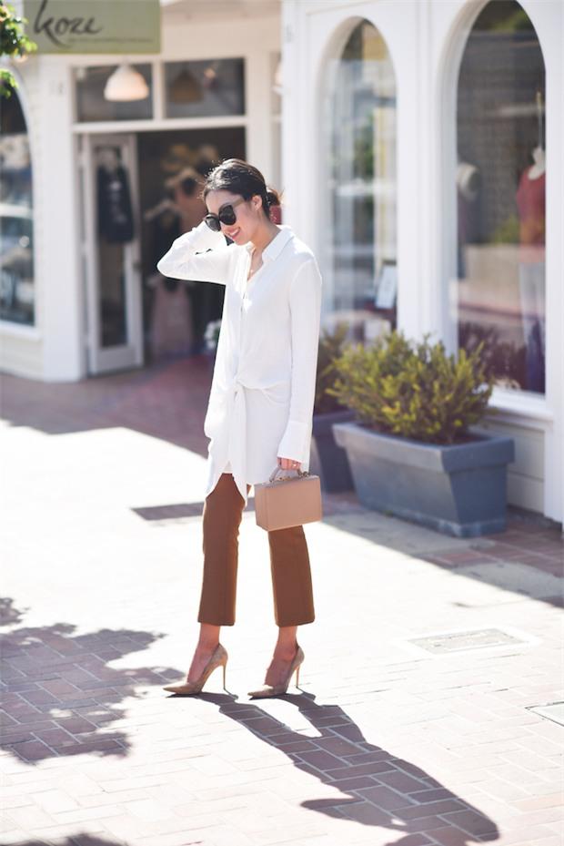 Chẳng ai bảo ai nhưng các quý cô châu Á diện cực nhiều đồ trắng cho street style tuần qua - Ảnh 15.