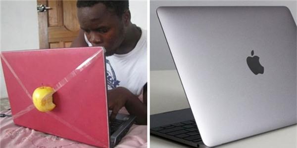 Mẹ không mua cho Macbook thì con tự tạo điều kiện vậy.