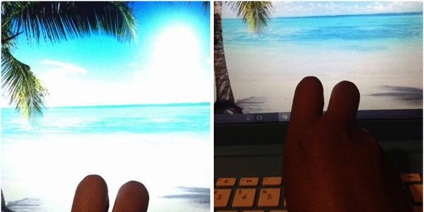 Nếu em bảo mình đang tắm nắng ở Hawaii, mà ai đó có thấy em ngoài đường, thì tự hiểu rằng mình cũng đang ở Hawaii đi nhé!