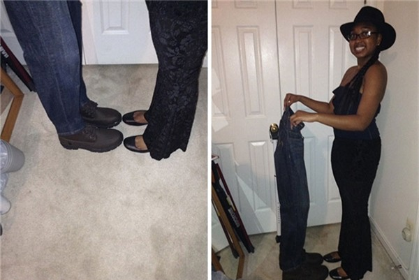 Xin anh đừng... bỏ đi mà chỉ để lại một cái quần với đôi giày!