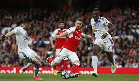 Arsenal dứt điểm nhiều nhưng không có bàn thắng