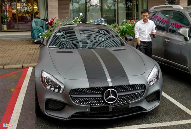 Cuong Do La do Mercedes GTS kieu Fast and Furious 8 hinh anh 1