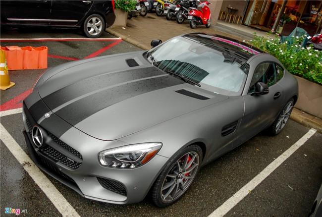Cuong Do La do Mercedes GTS kieu Fast and Furious 8 hinh anh 2