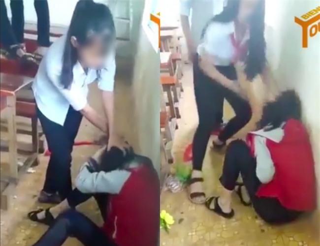 Nữ sinh lớp 9 bị đánh ghen ngay trong lớp học vì dám nhắn chúc anh ngủ ngon với người yêu của bạn - Ảnh 1.