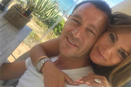 John Terry vừa âm thầm đi nghỉ mát với vợ