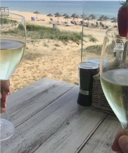 John Terry và bà xã Toni đã có những giây phút hẹn hò khó quên tại Bồ Đào Nha