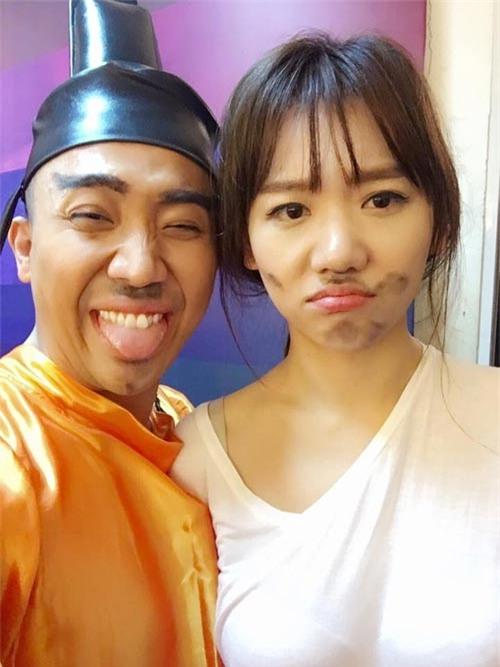 """nhung khoanh khac """"chang giong ai"""" cua vo chong tran thanh - hari won - 16"""