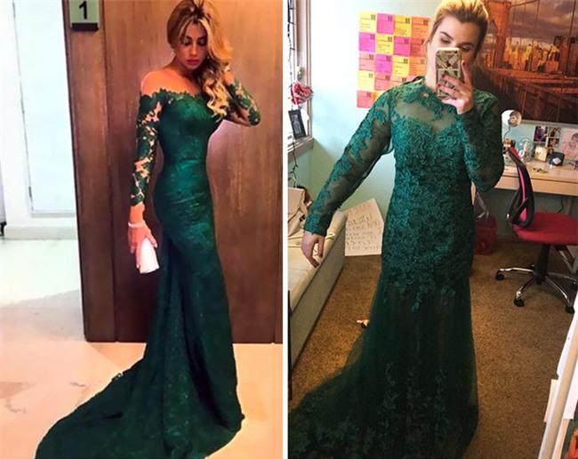 Những bộ váy prom thảm họa mua online biến công chúa thành phù thủy trong chớp mắt - Ảnh 2.