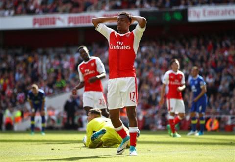 Nỗi buồn của các cầu thủ Arsenal