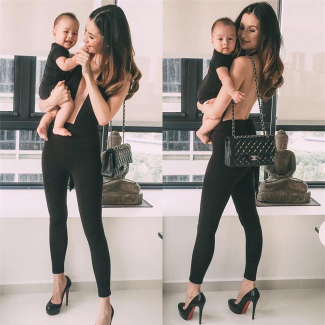 Bà mẹ bỉm sữa Singapore gây sốt mạng xã hội Việt với vẻ đẹp quá gợi cảm, về dáng chỉ 3 tuần sau khi sinh đôi - Ảnh 21.