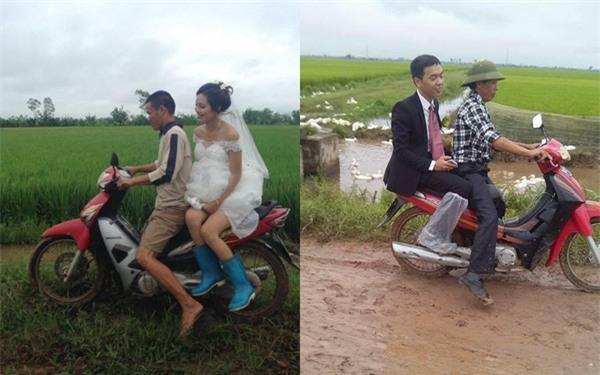 Đi tiệc cưới ngoài trời sang chảnh, hàng trăm khách đội áo mưa, nilon ăn búp phê toàn canh - Ảnh 10.