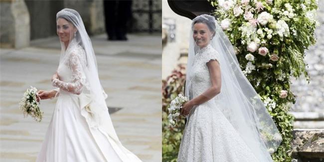 Đây chính là khoảnh khắc đáng giá nhất của tình chị em Công nương Kate trong đám cưới bạc tỷ - Ảnh 4.