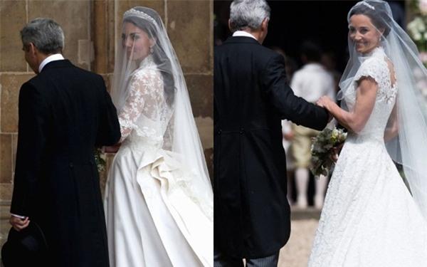 Đây chính là khoảnh khắc đáng giá nhất của tình chị em Công nương Kate trong đám cưới bạc tỷ - Ảnh 5.