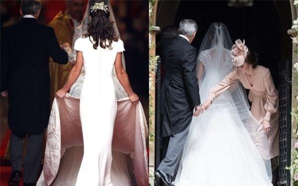 Đây chính là khoảnh khắc đáng giá nhất của tình chị em Công nương Kate trong đám cưới bạc tỷ - Ảnh 6.