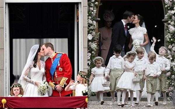 Đây chính là khoảnh khắc đáng giá nhất của tình chị em Công nương Kate trong đám cưới bạc tỷ - Ảnh 7.