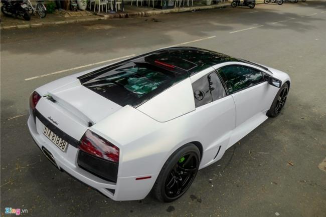 Lamborghini Murcielago LP640 xanh com doc nhat VN doi mau hinh anh 2