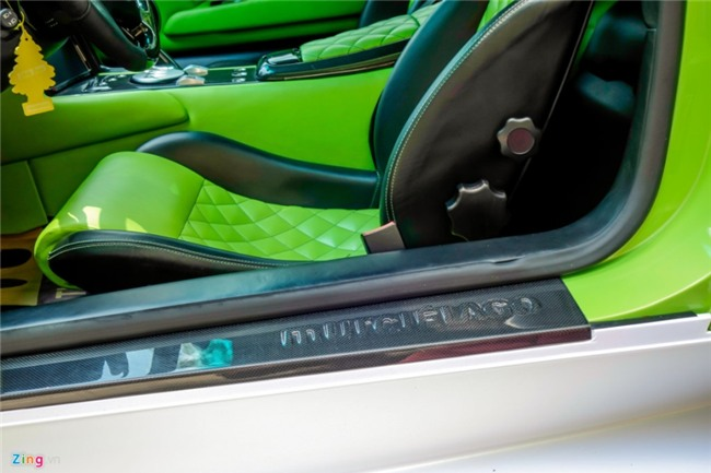 Lamborghini Murcielago LP640 xanh com doc nhat VN doi mau hinh anh 7