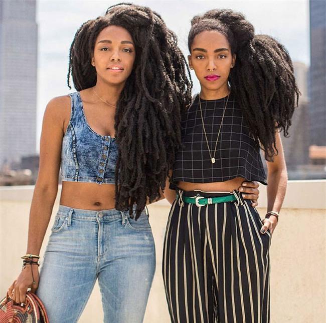 Mọi người đều nghĩ hai cô gái đội tóc giả nhưng sốc khi biết sự thật - Ảnh 3.