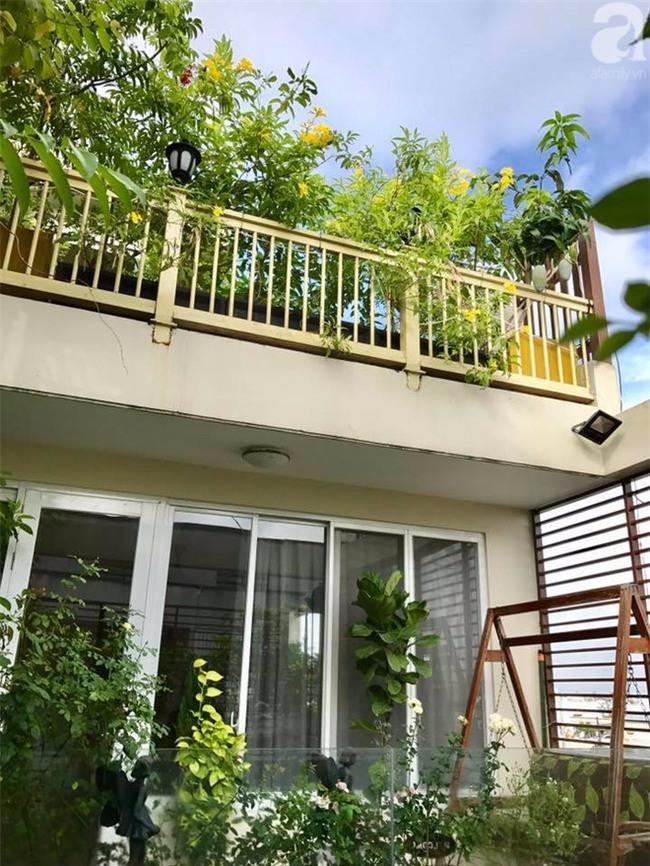 Khu vườn trên sân thượng rộng tới 200m² bạt ngàn rau quả sạch của nữ doanh nhân Sài Thành - Ảnh 4.