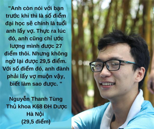 Thủ khoa đầu vào 29,5 điểm của ĐH Dược Hà Nội gây sốt với phát ngôn: Số điểm đại học là số tuổi anh lấy vợ - Ảnh 1.
