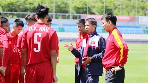 """HLV Hoàng Anh Tuấn: """"Phải trân trọng từng phút giây thi đấu ở World Cup"""""""