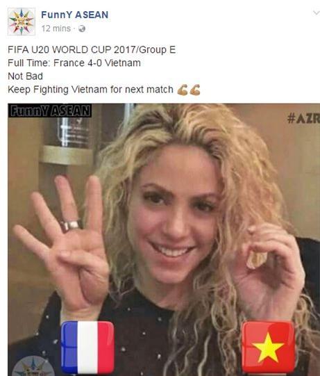 Fan nước ngoài khích lệ tinh thần U20 Việt Nam - Ảnh 1.