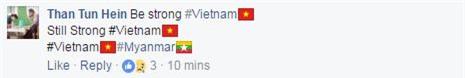 Fan nước ngoài khích lệ tinh thần U20 Việt Nam - Ảnh 2.