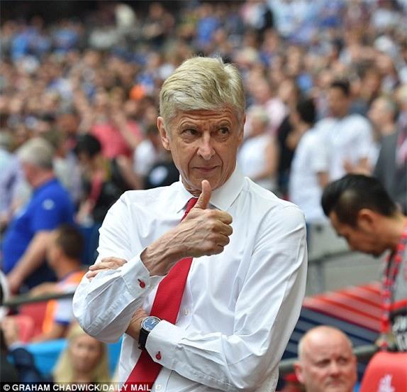 Wenger và Arsenal đi vào lịch sử FA Cup - Ảnh 3.