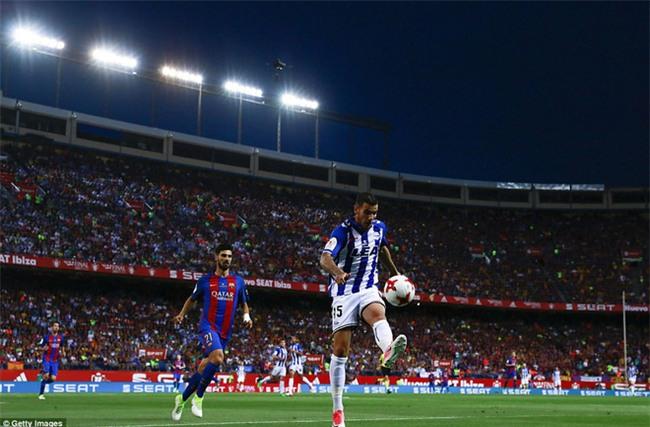 Messi nổ súng, Barca lần thứ 3 liên tiếp giành Cúp Nhà vua - Ảnh 3.